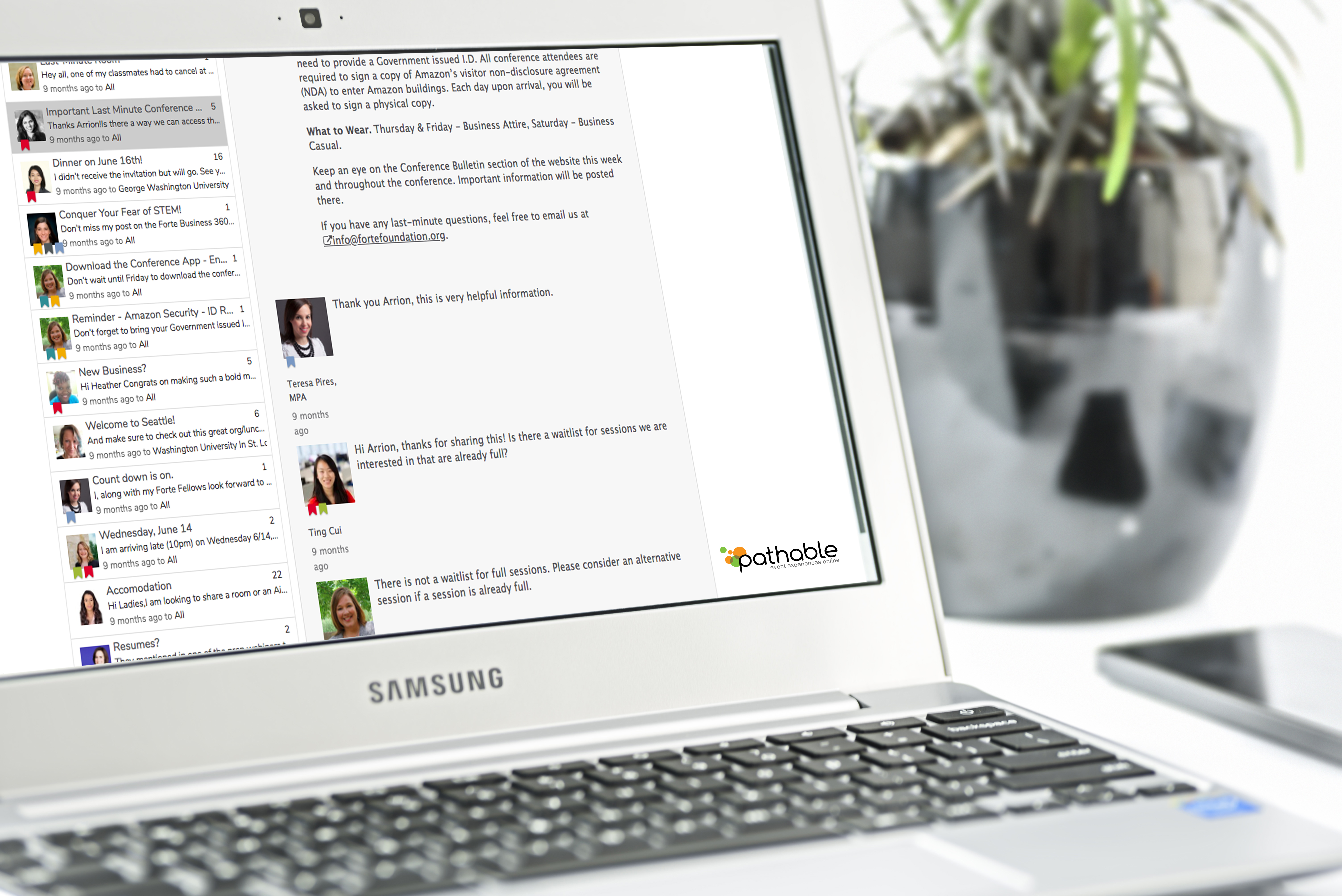 Pathable Demo - Pathable's Discussion Board