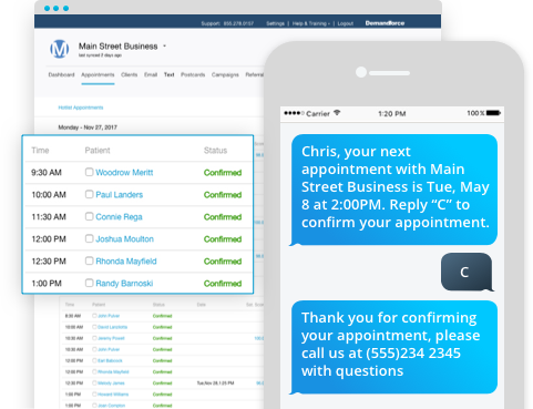 Demandforce Demo - Appointment Reminders