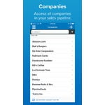 PipelineDeals Mobile Apps Screenshot