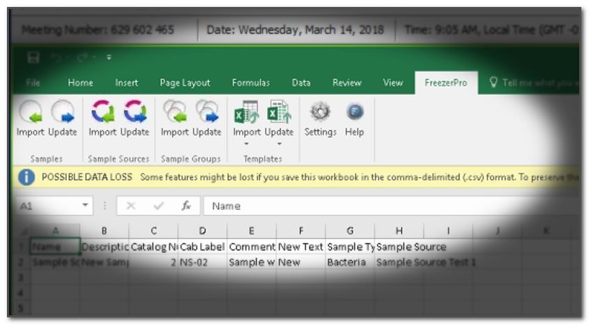 FreezerPro Demo - FreezerPro Excel Add-in