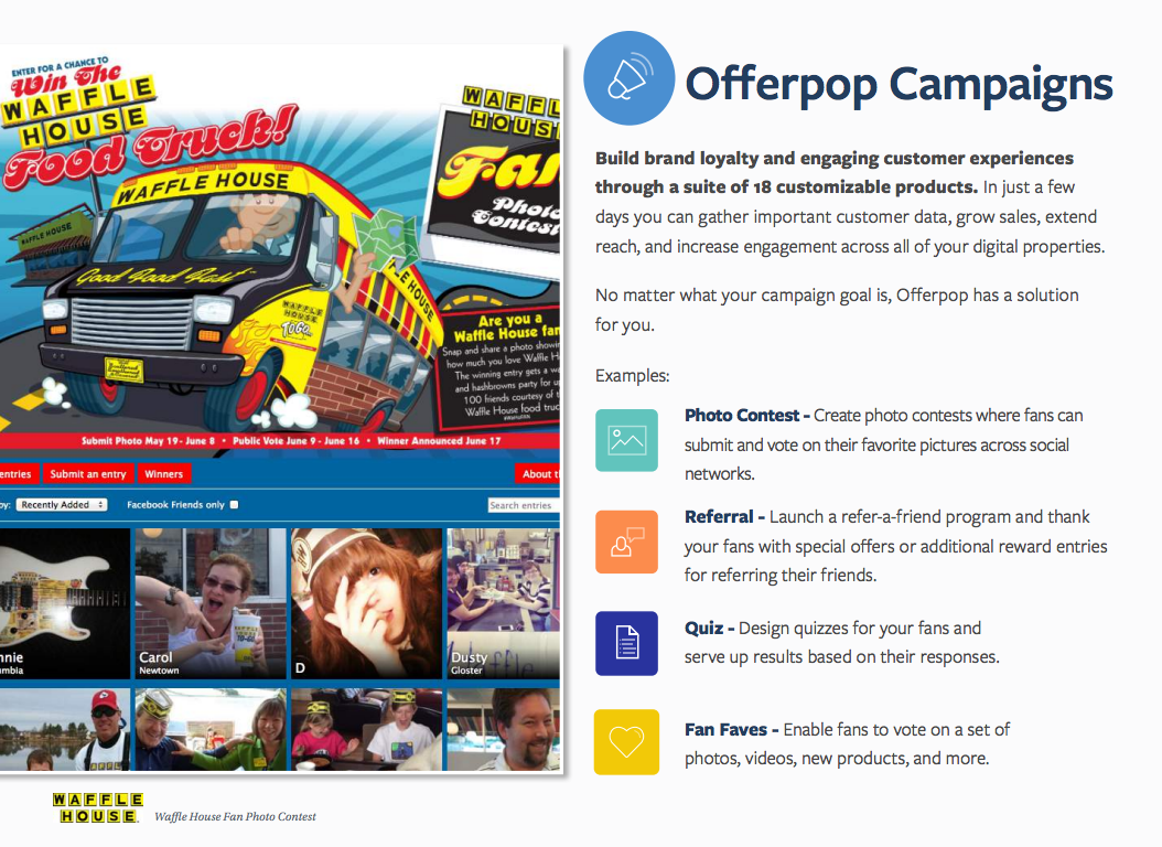 Wyng Demo - Offerpop Campaigns