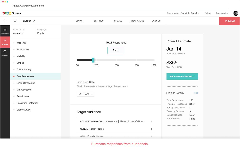 Zoho Survey Demo - Purchase-Response.jpg