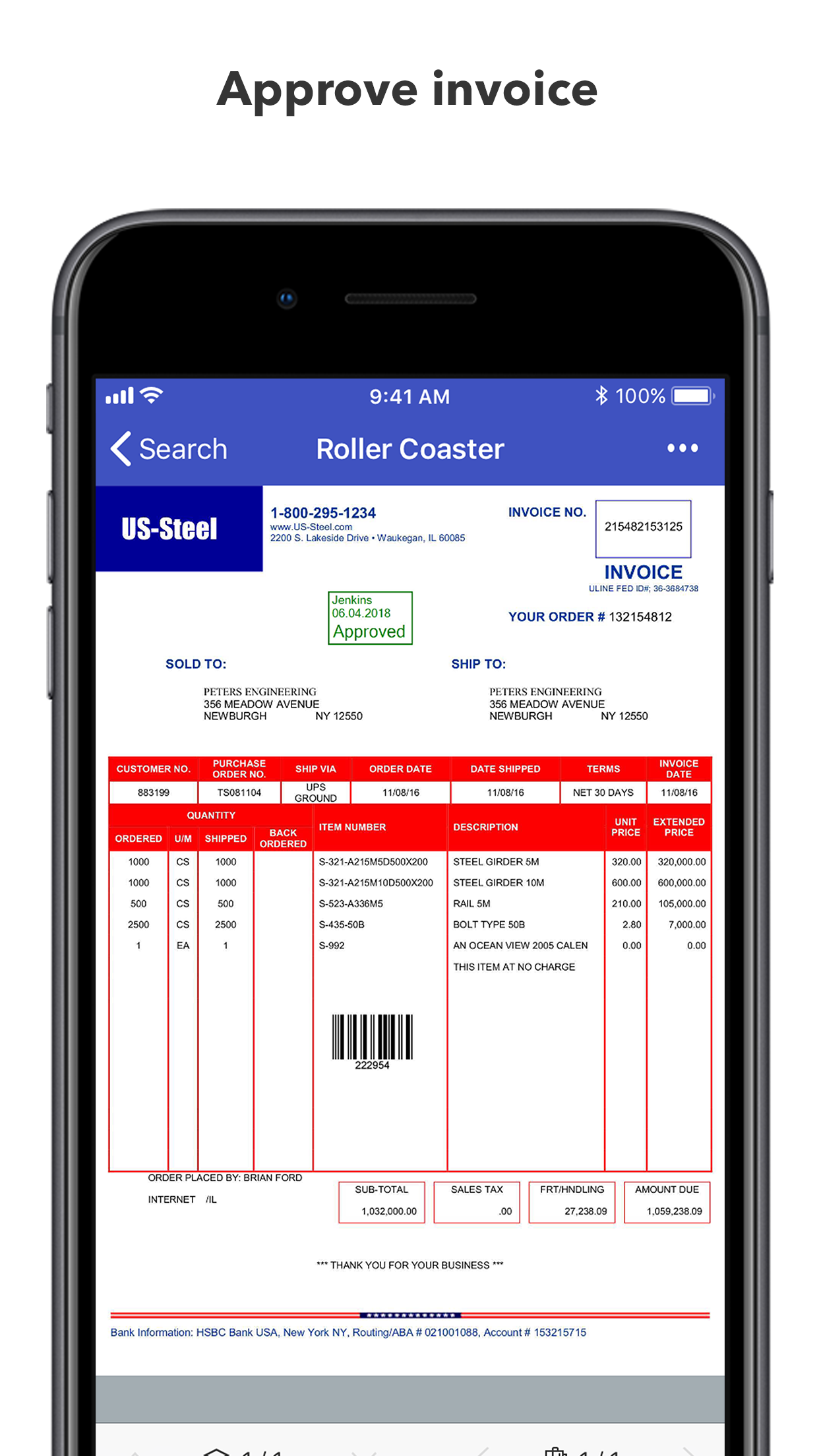 DocuWare Demo - Approve invoices on the go!