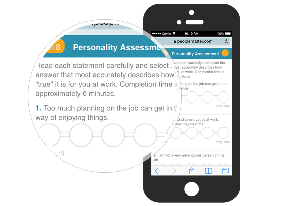 "PeopleMatter Demo - Six-Minute ""Best-Fit"" Assessments"