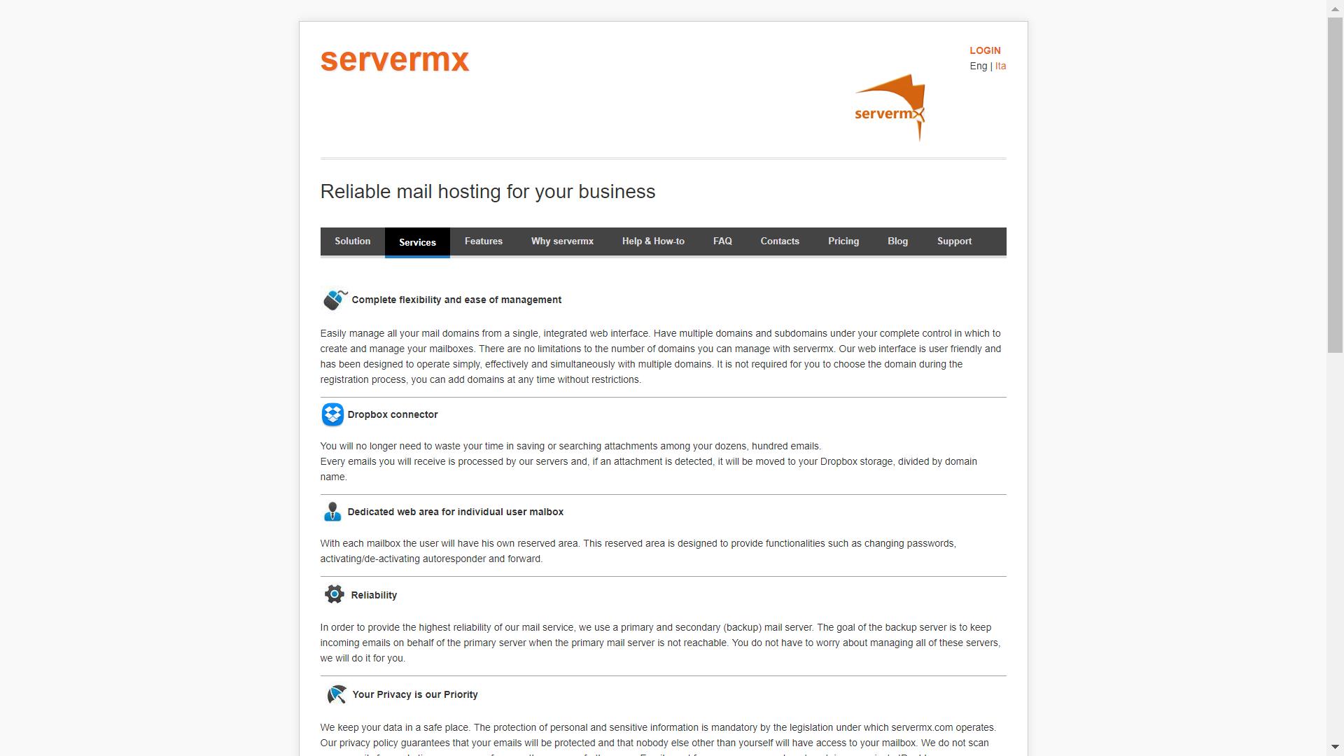 Servermx Reviews 2019: Details, Pricing, & Features | G2