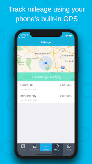 Shoeboxed Demo - Automatically track mileage expenses