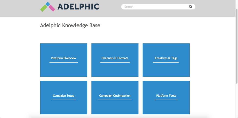 Adelphic Demo - Knowledge Base