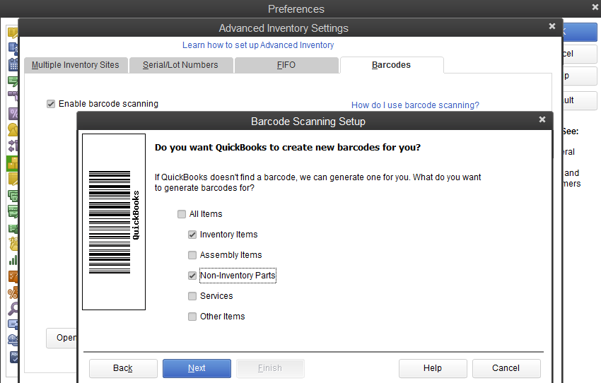 Quickbooks Desktop Enterprise Demo - QuickBooks Enterprise Advanced Inventory - Barcode Scanning