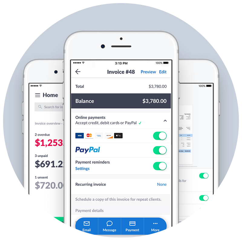 Invoice2go Demo - Online Payments