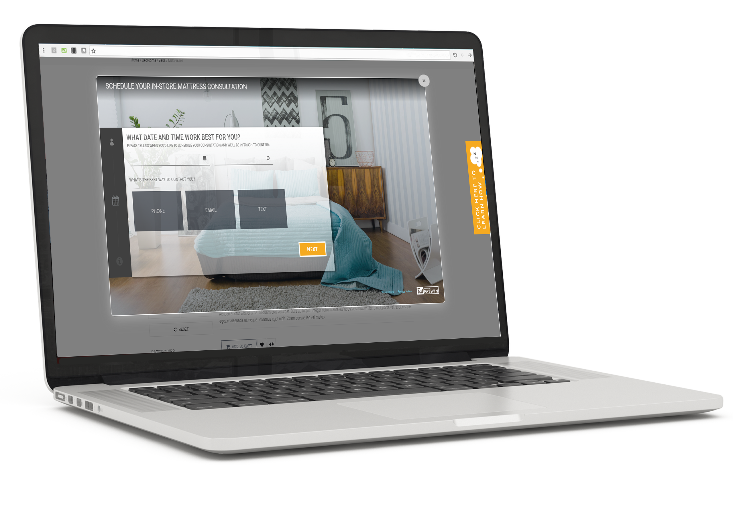 PERQ Demo - PERQ's Consultation Scheduler for the Home Furnishings Industry