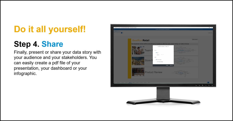 SAP Lumira Demo - Step 4. Share
