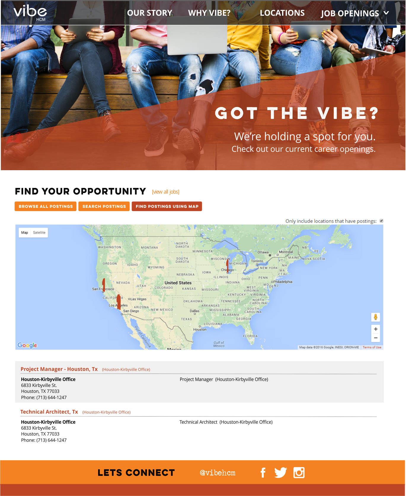 Vibe HCM Demo - Sample Careers Page