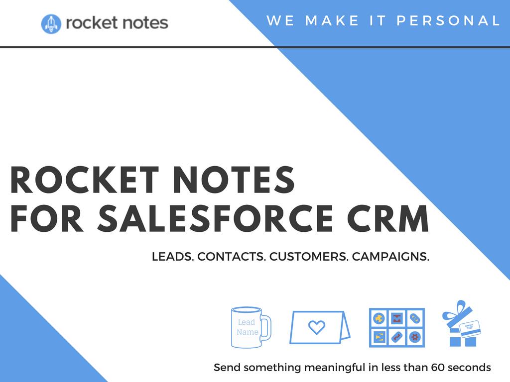Rocket Notes Demo - Rocket Notes for Salesforce