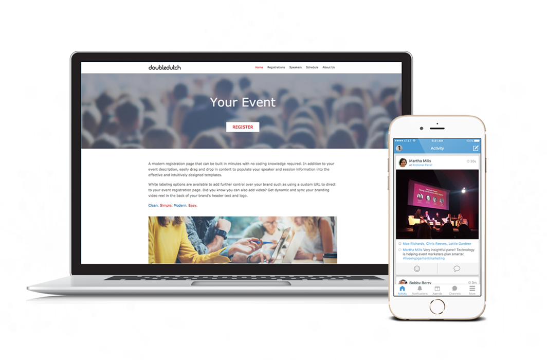 DoubleDutch Demo - Integrated Registration and Event Apps