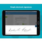 OneSpan Sign Mobile Apps Screenshot
