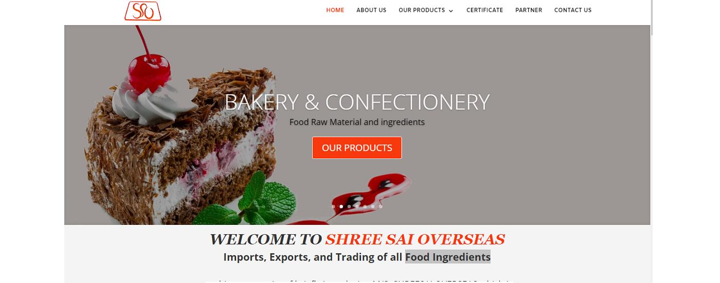 Website Design Demo - Shree Saioverseas Wordpress Design and development