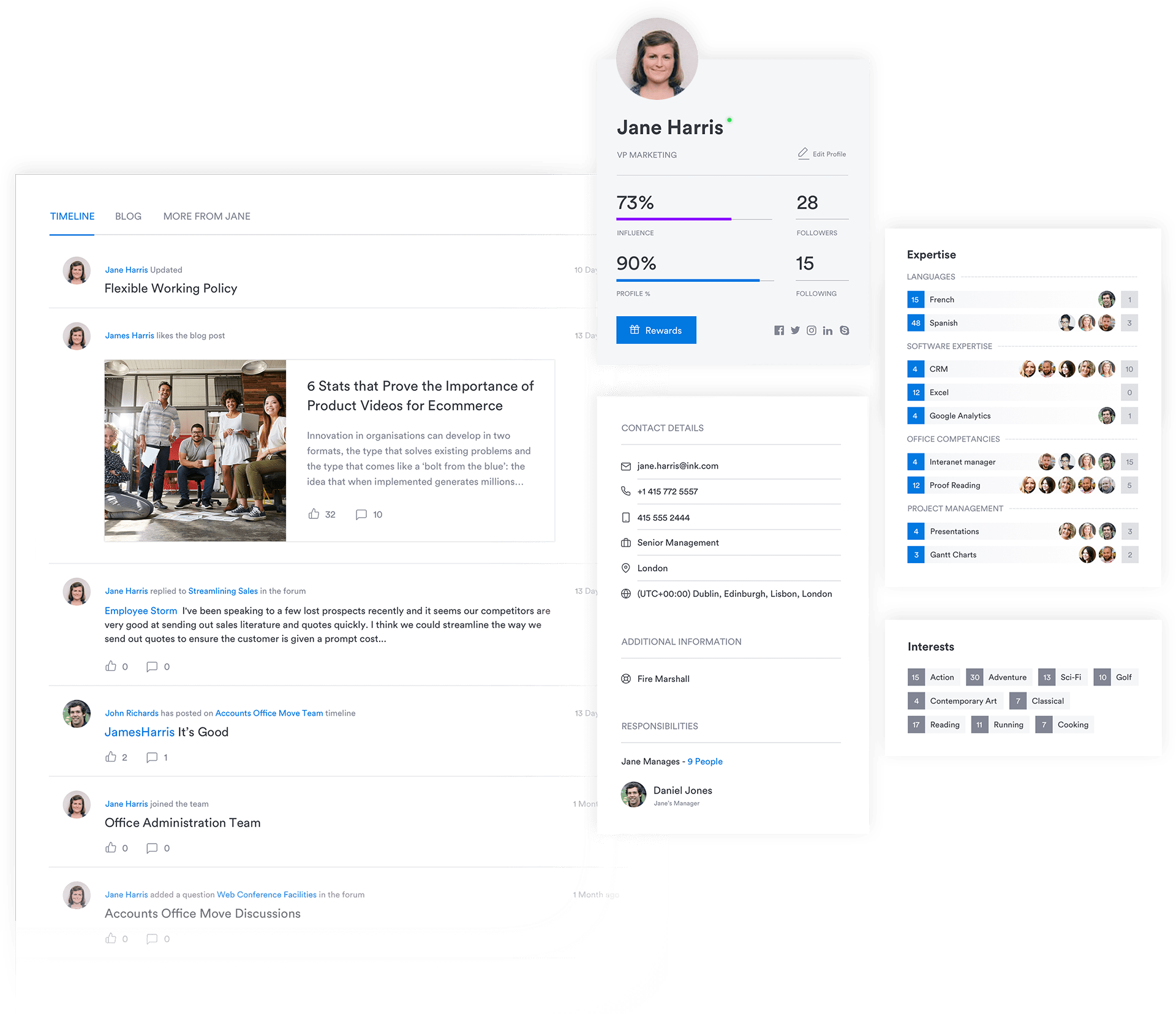 Interact Demo - People Directory