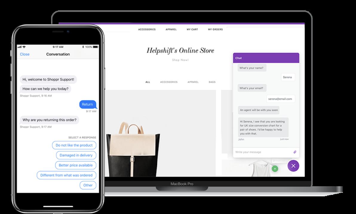 Helpshift Demo - Conversational Messaging Across All Digital Channels