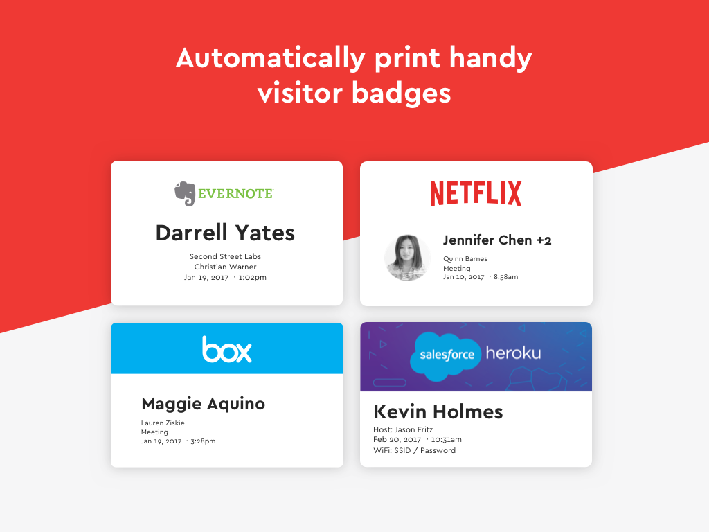 Envoy Demo - Visitor Badges