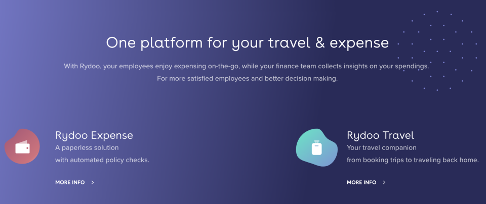 Rydoo Better Together Demo - One platform for your travel & expense