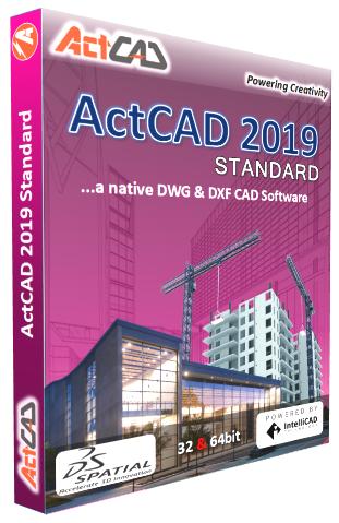 ACTCAD Professional Demo - ActCAD 2019 Standard