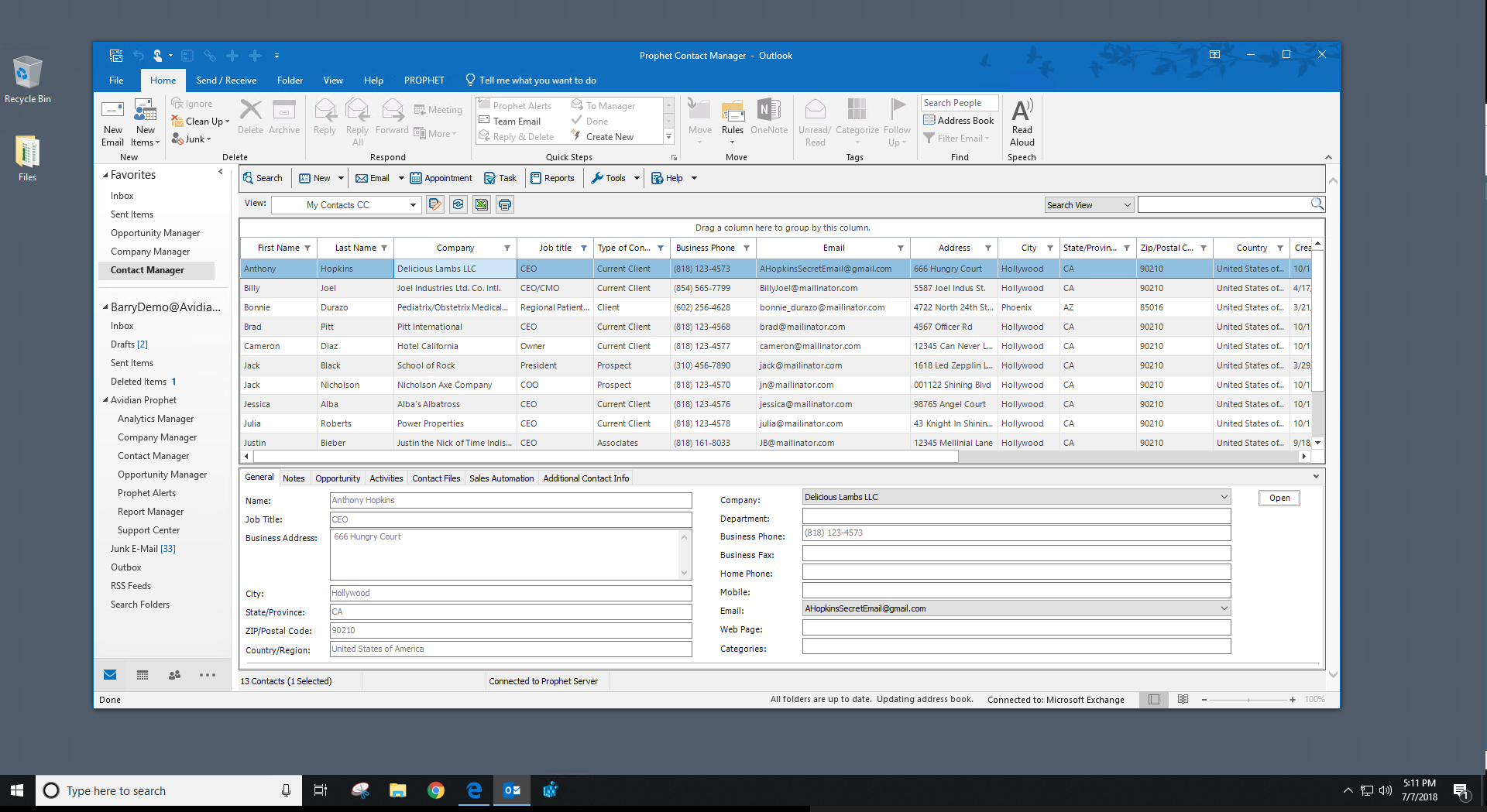 Prophet CRM Demo - ProphetCRM-Contact-Manager.PNG