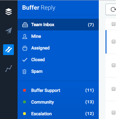 Buffer Reply Demo - Track, assign, and close