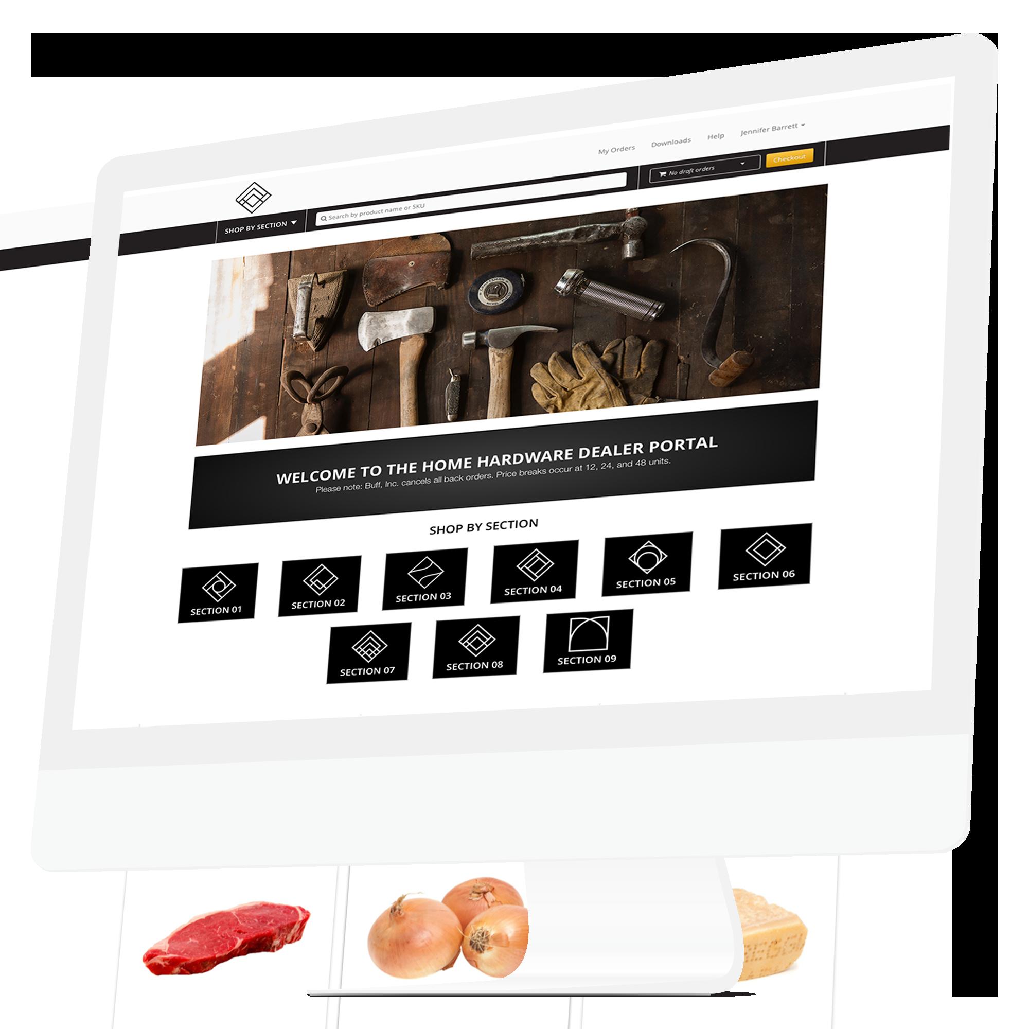 Handshake Demo - Handshake Direct B2B eCommerce Website