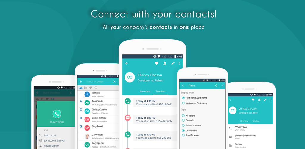 Pobuca Demo - Pobuca Connect - Connect with your contacts