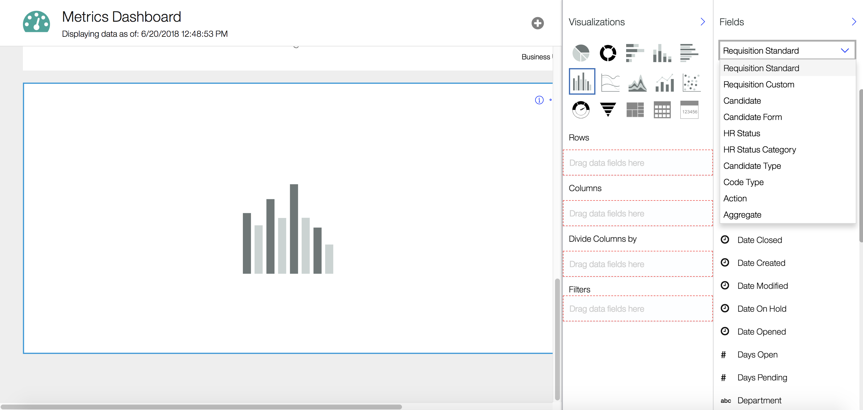 IBM Kenexa Talent Acquisition Suite Demo - BrassRing Metrics Dashboard Customization