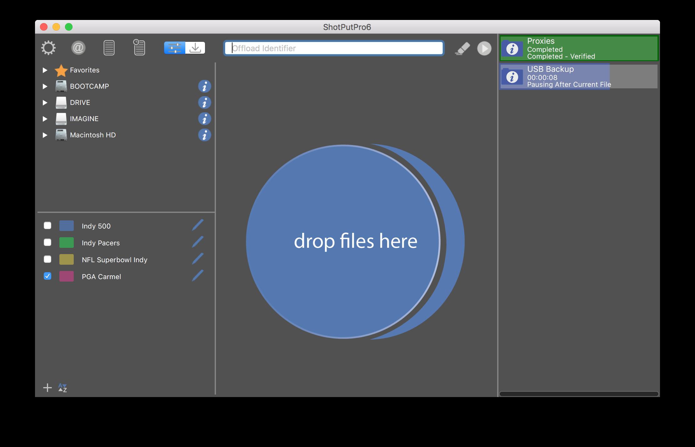 ShotPut Pro Demo - ShotPut Pro Mac