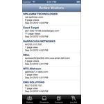 Pardot Mobile Apps Screenshot