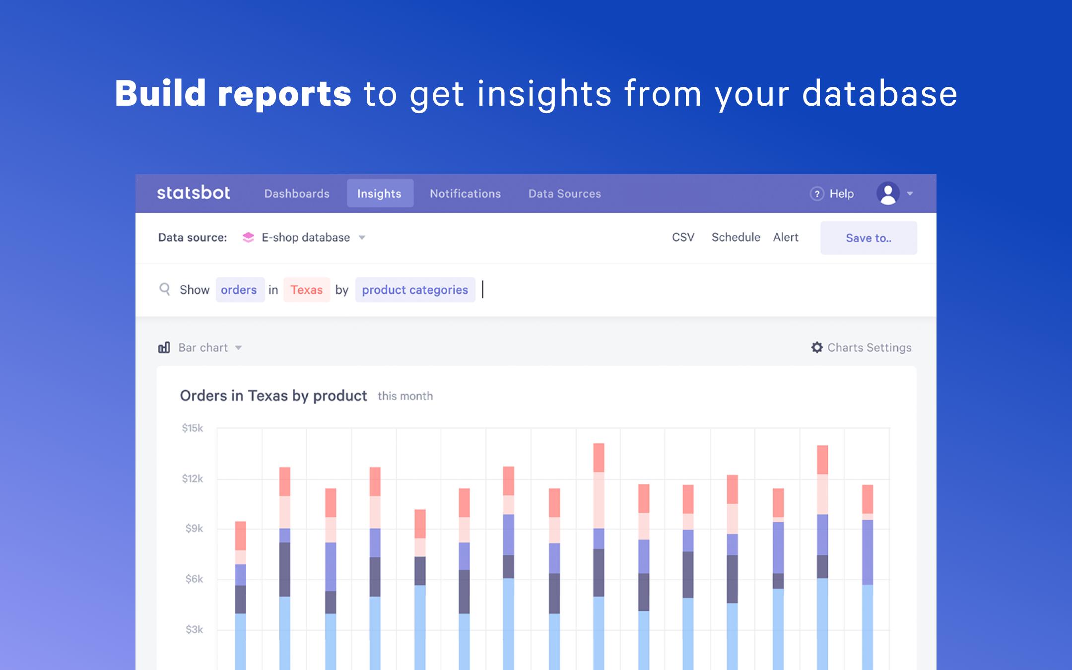 Statsbot Demo - Insights