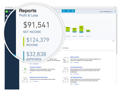 QuickBooks Online Demo - Manage income, expenses and customer information all in one place