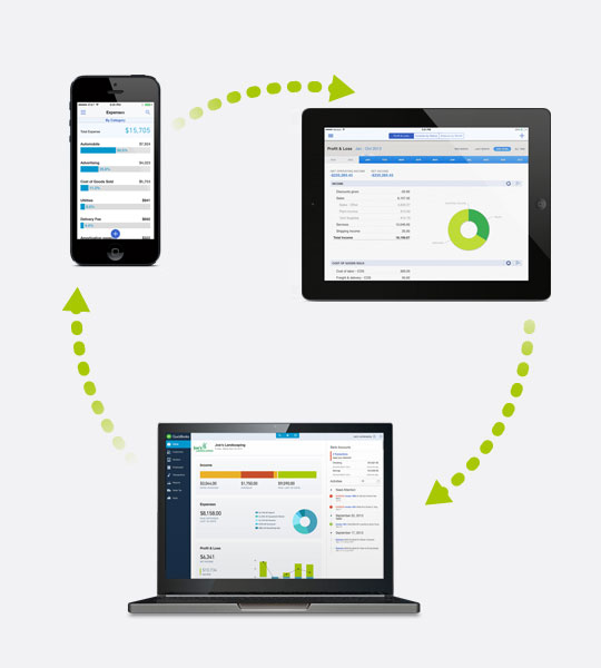 QuickBooks Online Demo -  Stay productive on the go