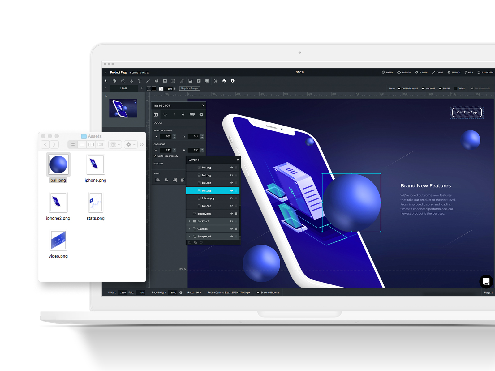 Ceros Demo - Layout Your Design in the Studio