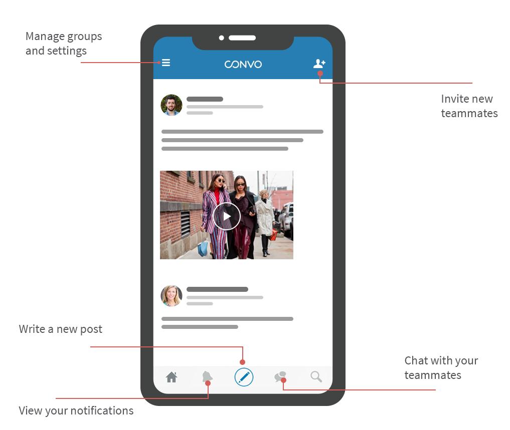 Convo Demo - Mobile App