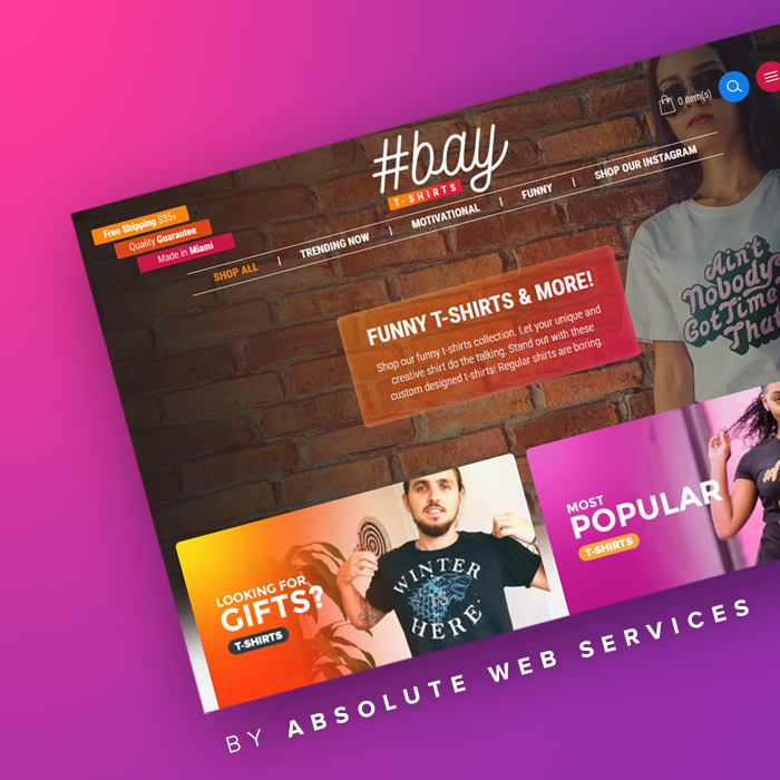 Absolute Web Services Demo - HashtagBay.com