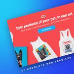 Absolute Web Services Demo - PopYourPup.com