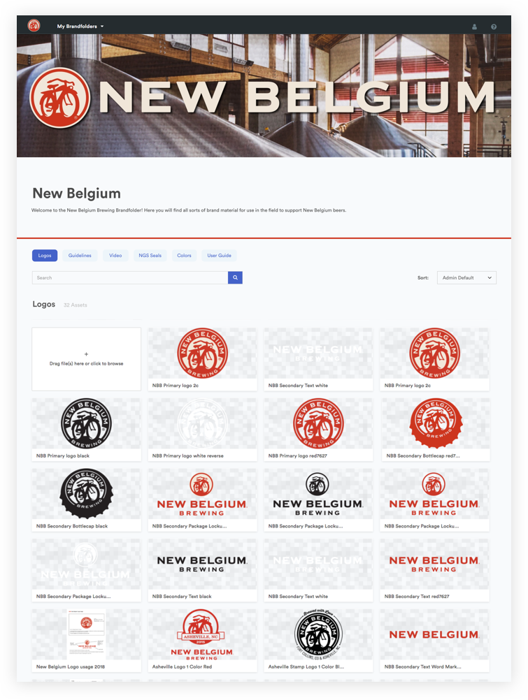Brandfolder Demo - New Belgium