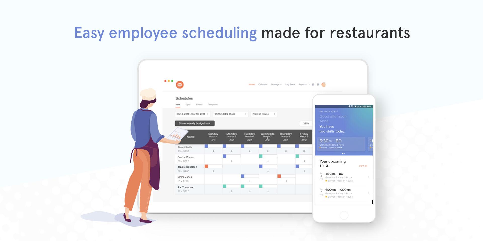 7shifts Restaurant Scheduling Demo - Easy employee scheduling for restaurants