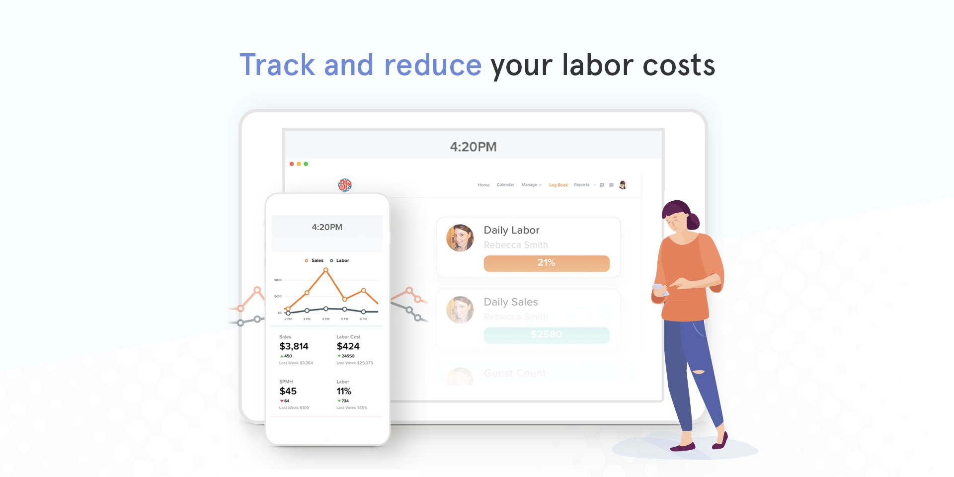 7shifts Restaurant Scheduling Demo - Track restaurant profitability in real time
