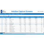 idu-Concept Demo - Intuitive user-friendly Capture Screens