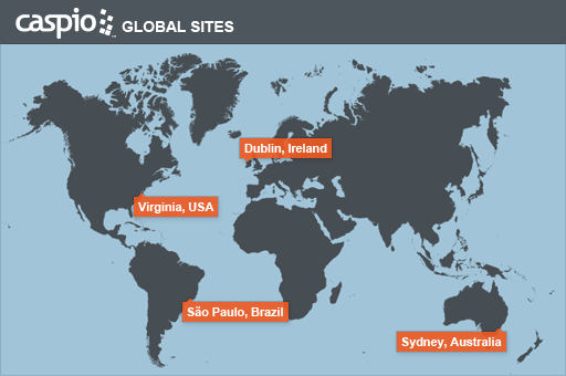 Caspio Demo - Choose one of our global data center locations