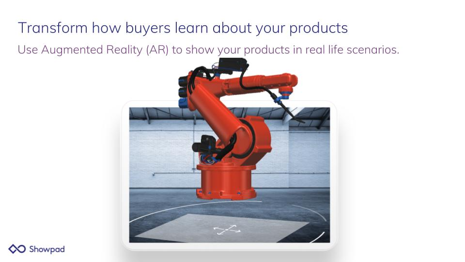 Showpad Demo - Transform how buyers learn about your products