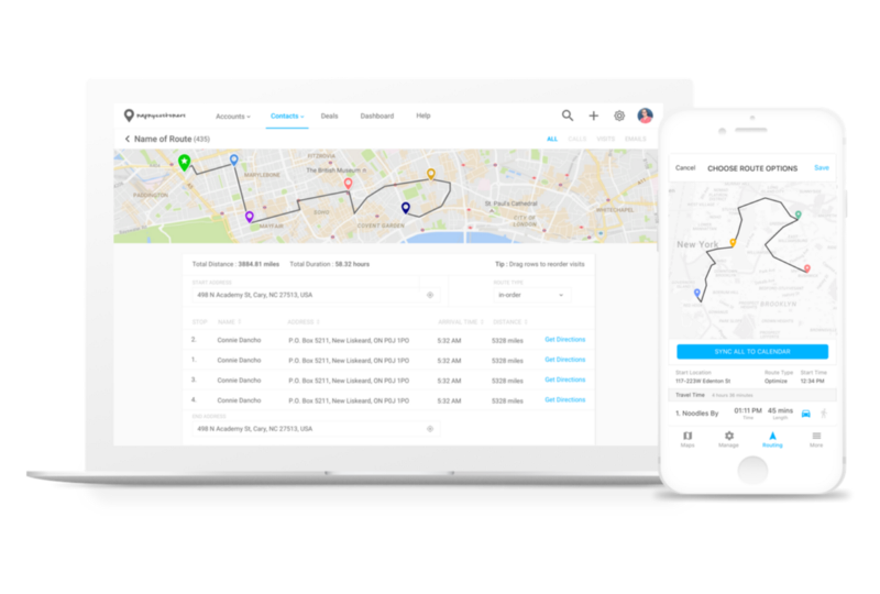 Map My Customers Demo - Visit Customers Faster With Advanced Route Optimization
