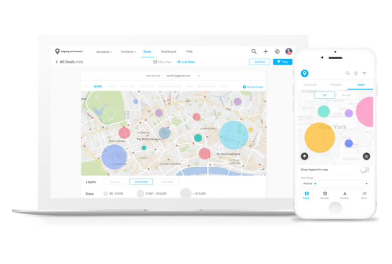 Map My Customers Demo - Target the Right Accounts