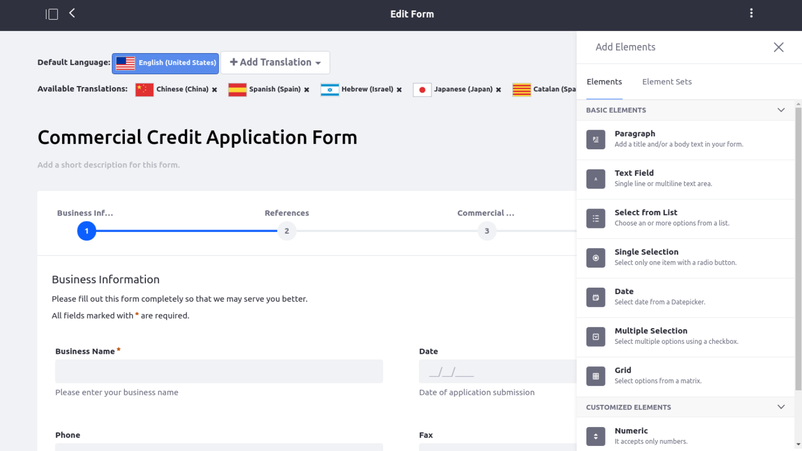 Liferay Digital Experience Platform Demo - Liferay Forms