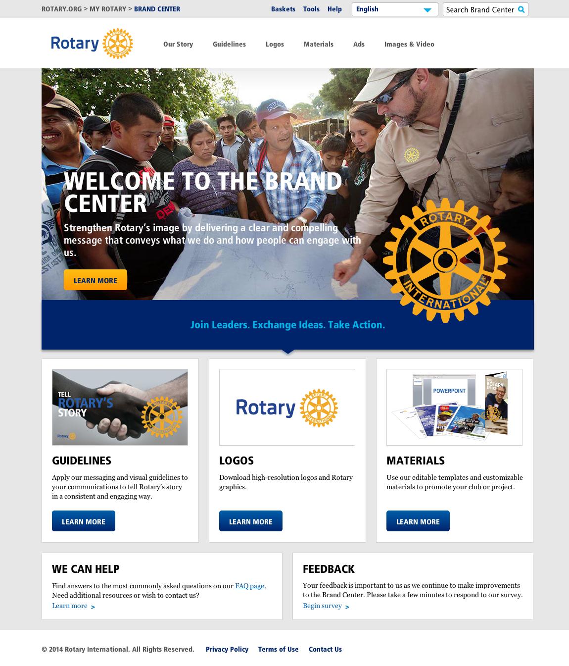 Adgistics Demo - Rotary Brand Centre solution
