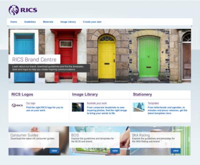 Adgistics Demo - RICS Brand Centre solution